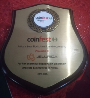 Coinfest award