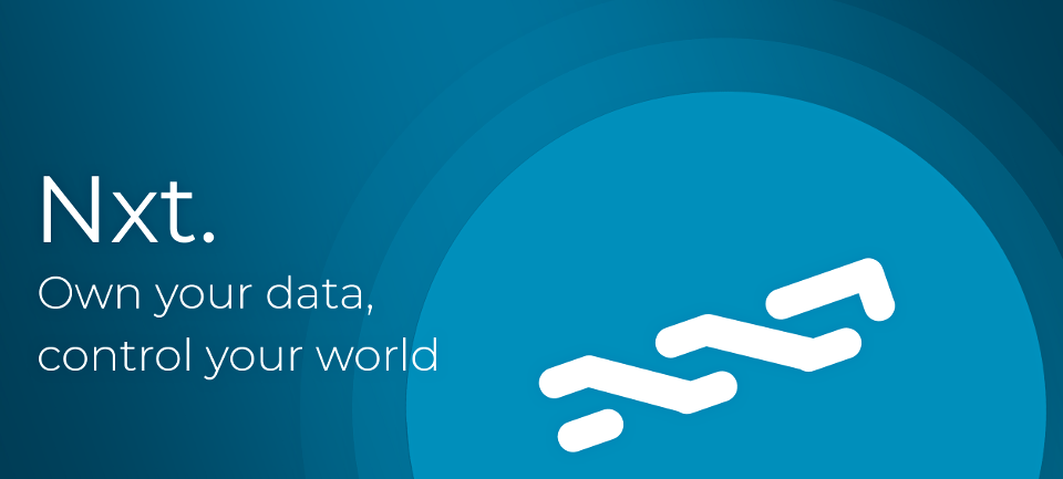 Nxt: Own your data, control your world